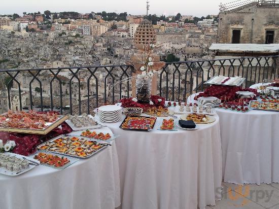 Buffet sul Terrazzo