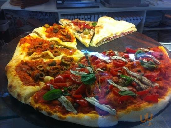 pizza a spicchi, molti gusti... tutti buonissimi