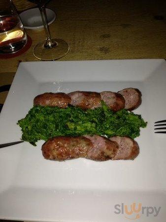 tagliata di salsiccia e broccoli che piatto!!!!