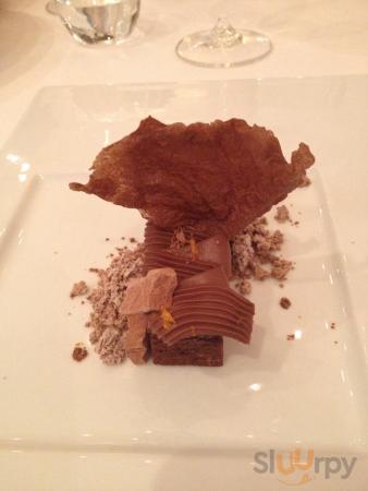 Tripudio di cioccolato fondente