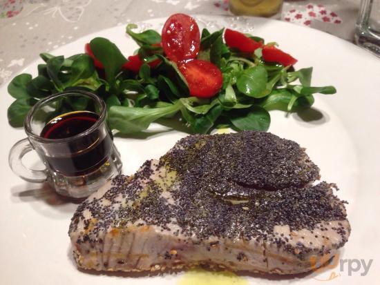 Trancio di tonno alla griglia