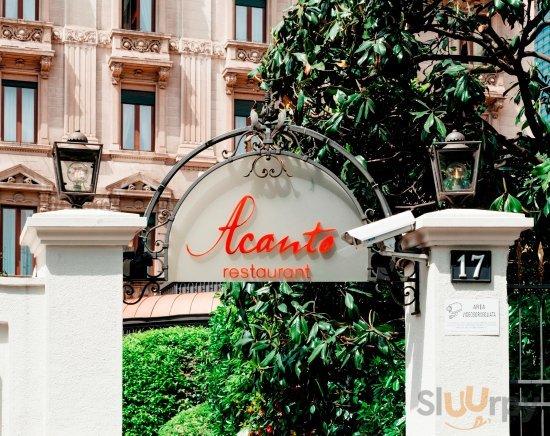 Acanto Restaurant entrance