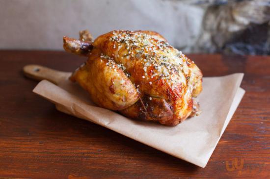 Ecco uno dei super polli da 1,2 kg!!!