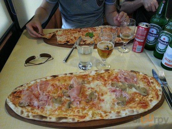 Pizza al tagliere