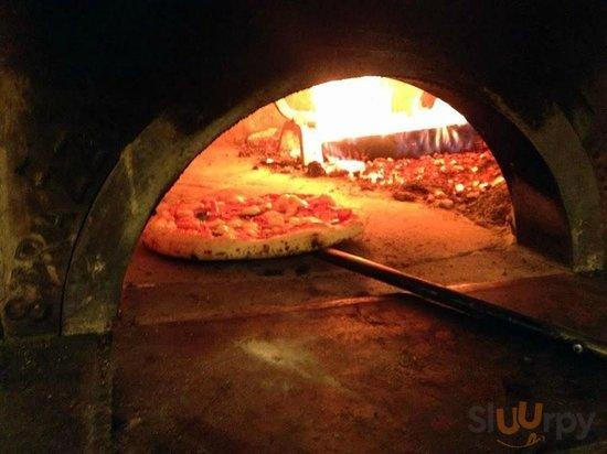 La pizza in forno!