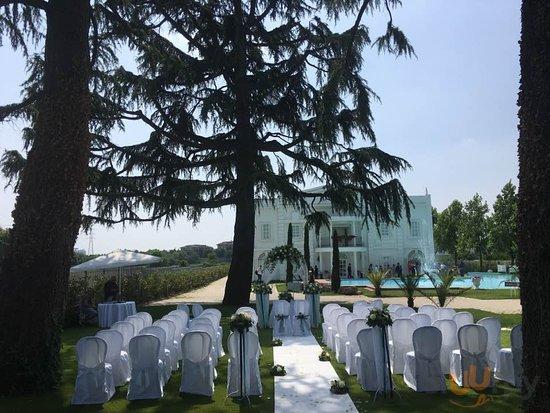 Matrimonio in villa renoir