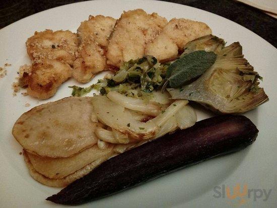 Filetto Merluzzo e verdure di stagione