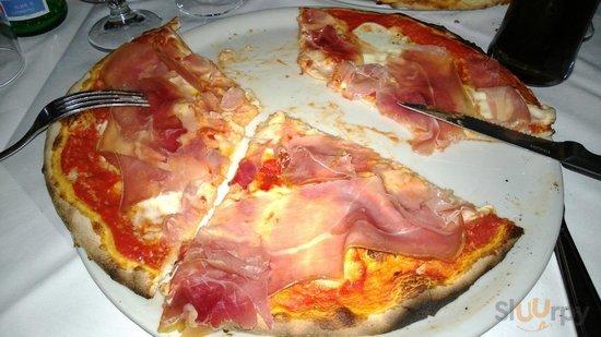 pizza San DAniele e Bufala