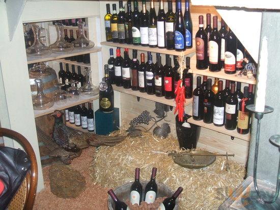 Una vasta gamma di vini