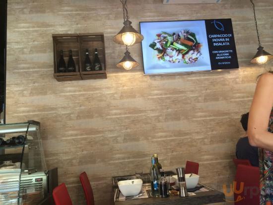piatti sullo schermo piatto