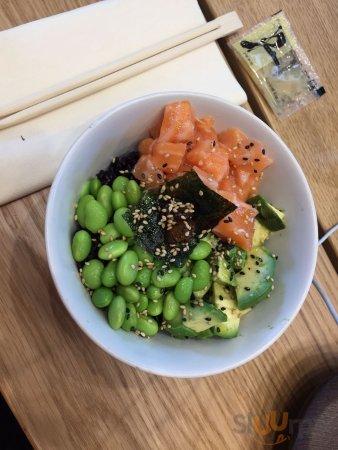 Sushi Bowl Salmon