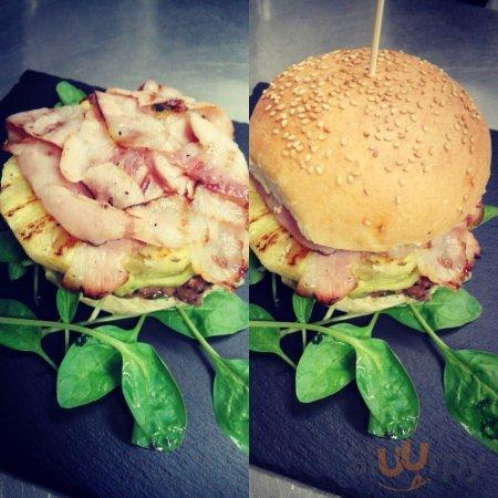 tropical burger