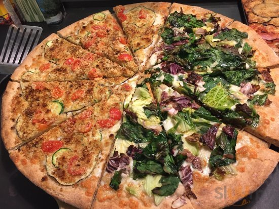 Pizza al taglio 100% farina integrale