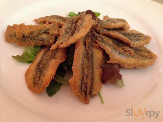 Fresh sardines, cooked perfectly.