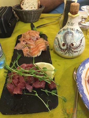 Salmone e Tartare di Tonno