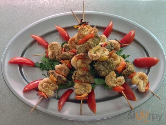 Spiedini di pesce (Chef Adriano)