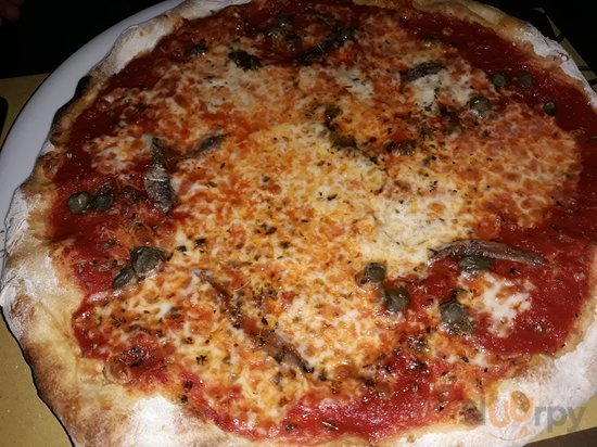 Pizza with Anchovies