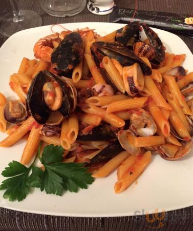 Seafood Pasta with Penne Pasta
