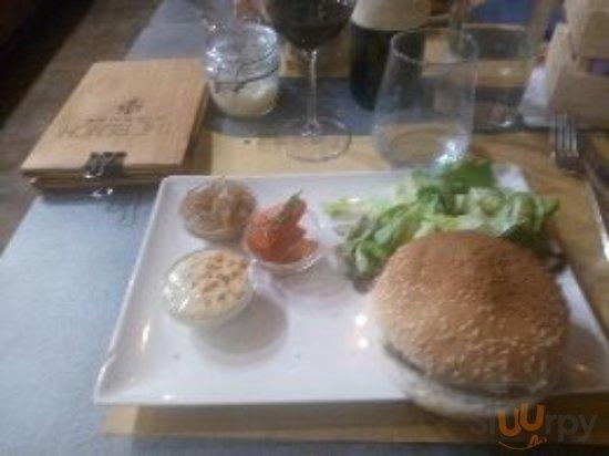 hamburger scomposto