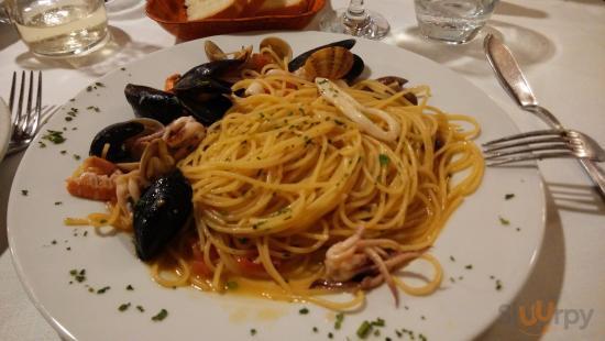 Spaghetti allo scoglio ricco