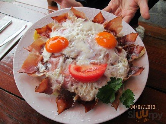 Speck uova e patate
