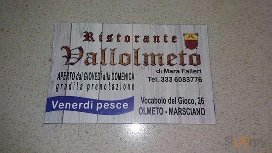 Ristorante Vallolmeto