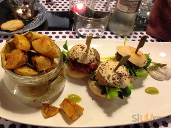 Il fantastico tris di mini hamburger