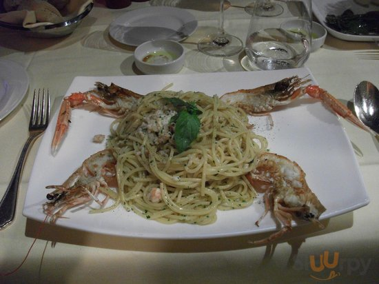 Spaghetti Scampi - Main Course