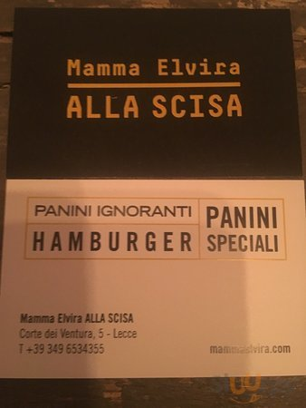 Mamma Elvira Alla Scisa