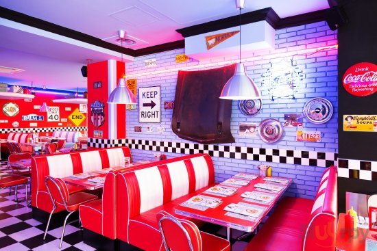1950 American Diner - Centro
