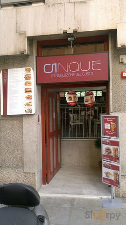 Cinque il fast food alternativo in pieno centro a Palermo