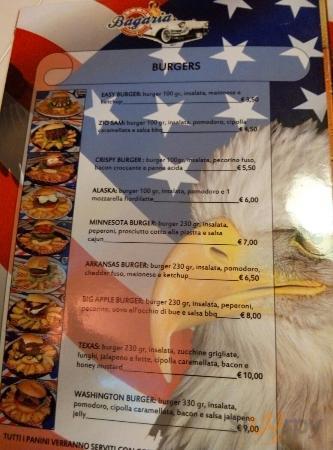 Bagaria American Dinner