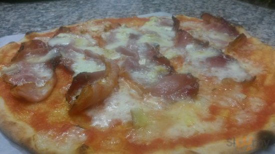 pizza Spek e Brie