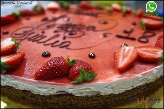 torta chees cake di nostra produzione