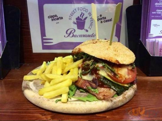 Maxi street burger