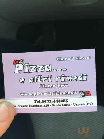 Pizza e altri rimedi