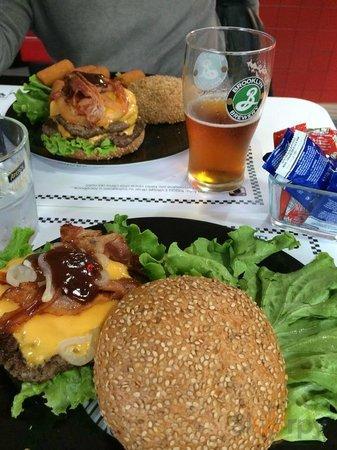 Bacon BBQ burger