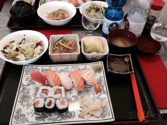 Men\u00fa sushi a mediod\u00eda