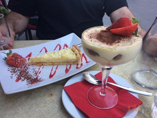 Ricotta Cake & Tiramisu
