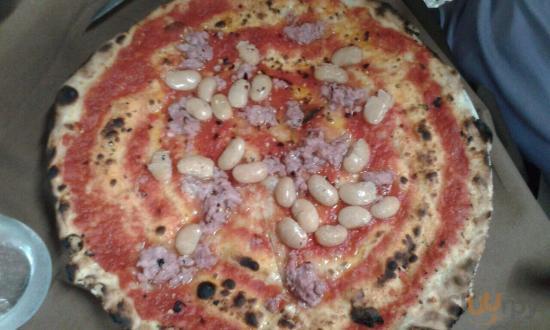 Pizza messicana senza mozzarella