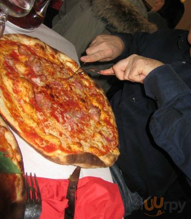 Pizza sottile e fragrante\r\n