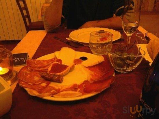 antipasto paperi e civette