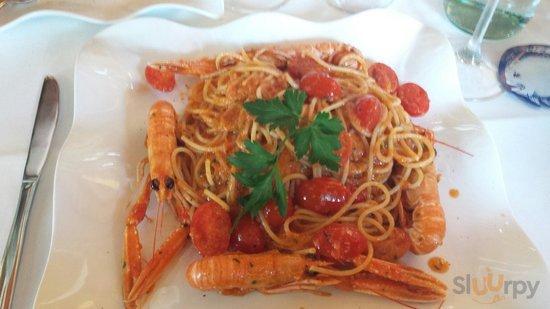 Spaghetti alla busera. Fantastici.