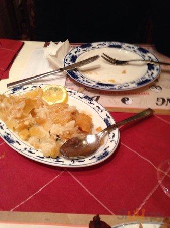 Pastella cruda e stra unta, fritta nell olio freddo probabilmente