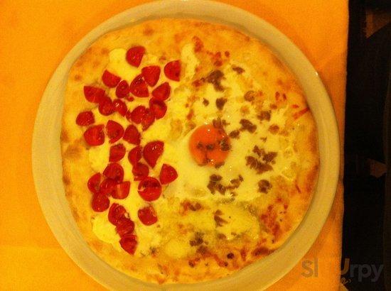Ottima pizza con tartufo