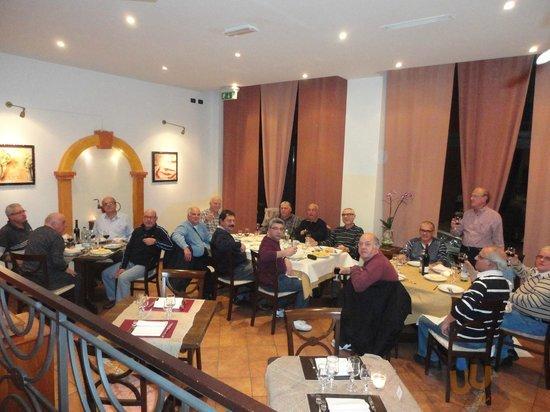 Excellent Lunch at ANTICA TRATTORIA ALL GRADA - Bologna-Feb'14