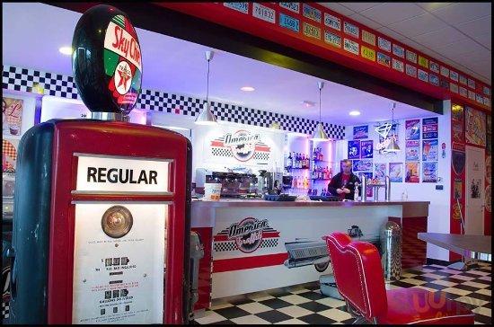 America Graffiti Diner Restaurant Legnago