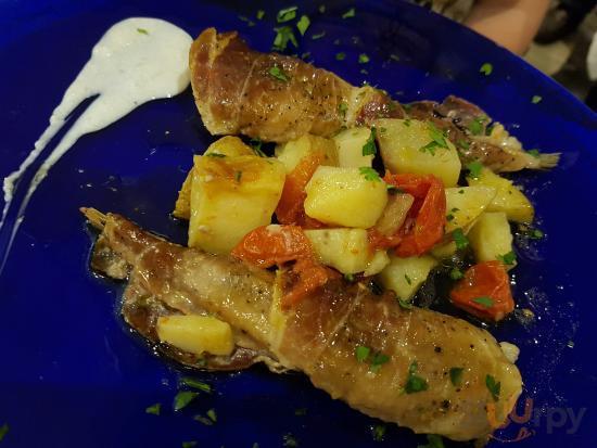 Coda di rospo e patate