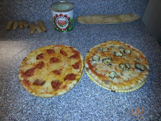 Queste sono le nostre pizze...