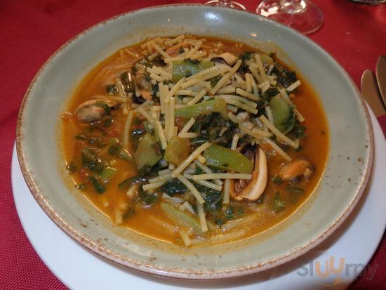 Spaghetti spezzati tenerumi e cozze